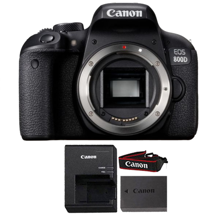 - Canon EOS Rebel 800D / T7i 24.2MP Wifi NFC Digic 7 CMOS Digital SLR Camera Body ONLY Black