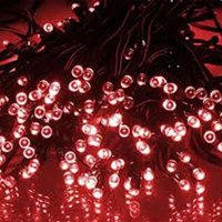 Products 50 LED Solar Powered String Lights, White Color
