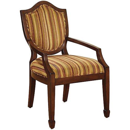 Venetian Bernetta Accent Chair, Stripes