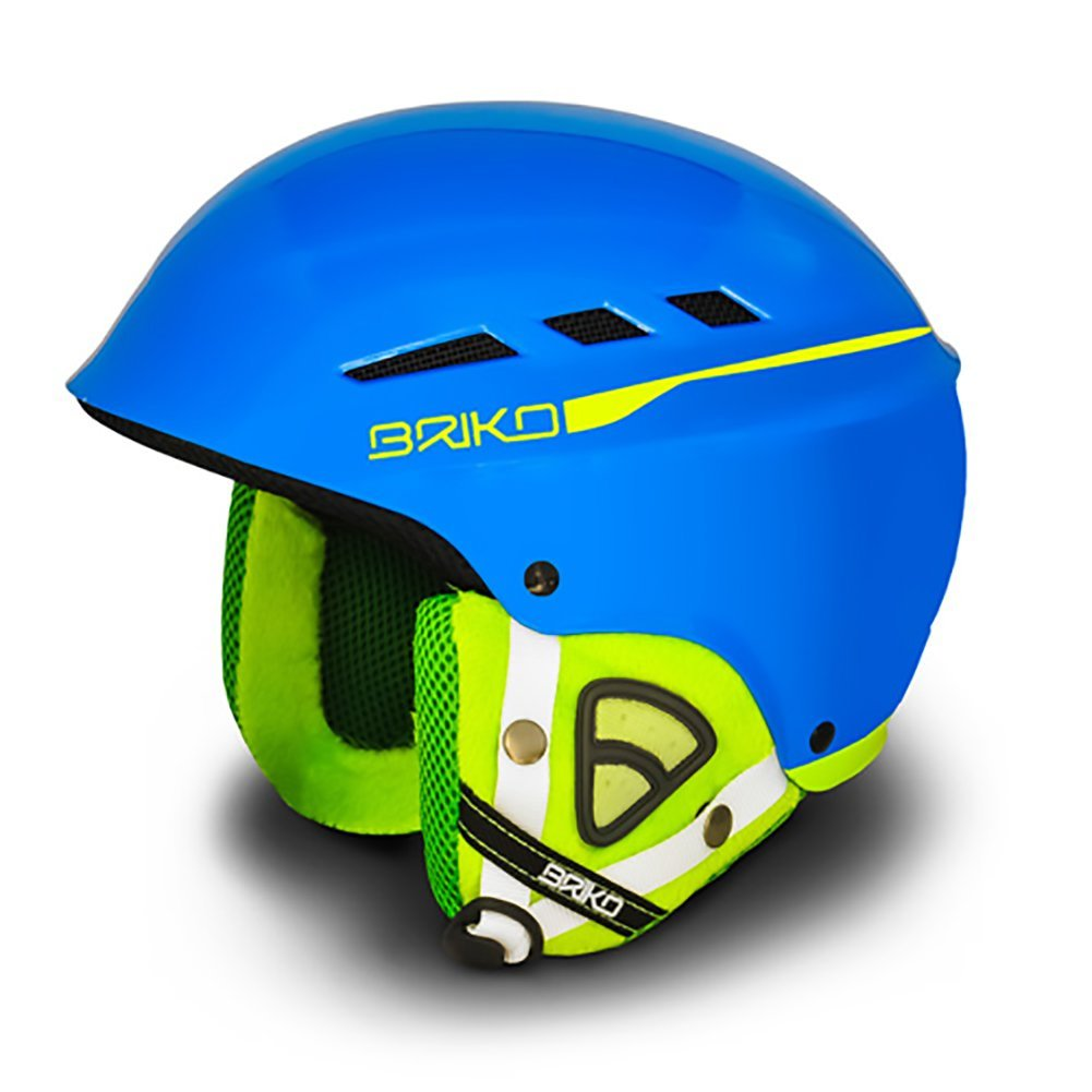 Briko Book Casco Ski Helmet Sky Blue Lime-Size: M (57-58CM) by SOGEN SPORTS INC.