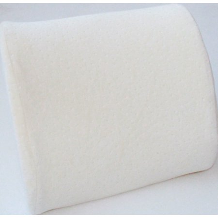 Ultra Soft LUMBAR MEMORY FOAM SUPPORT BACK CUSHION, Helps to Relieve Lower Back (Best Way To Help Lower Back Pain)