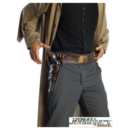 Adult's Jonah Cowboy Molded Costume Holster Gun Belt