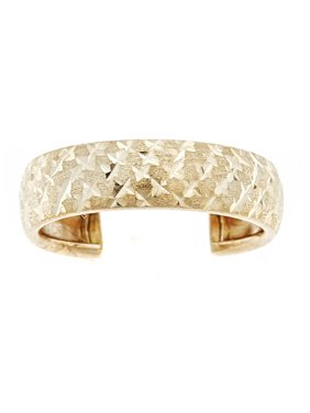 93d78d64e Product Image 10kt Solid Yellow Gold Adjustable Toe Ring In a Diamond-Cut  Design
