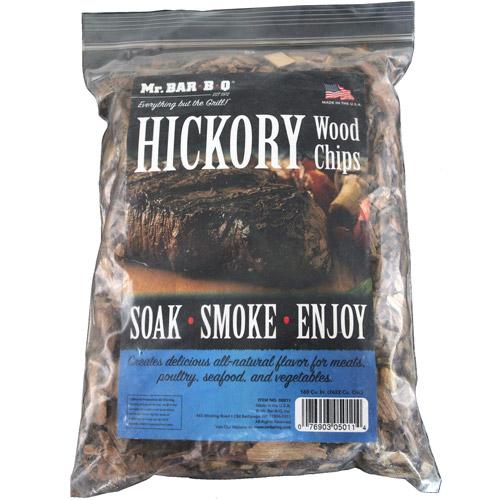 Mr. Bar-B-Q Hickory Wood Smoking Chips, 2-Pack