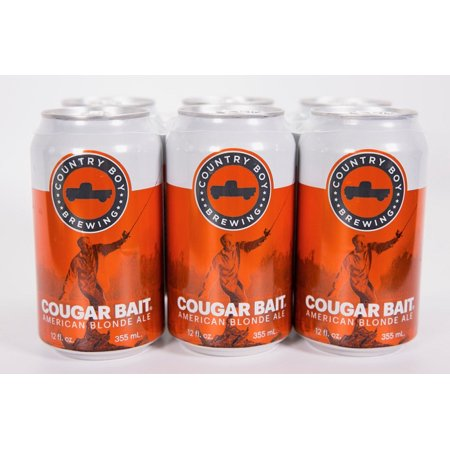 Country Boy Cougar Bait Blonde Ale, 6 pack, 12 fl oz cans - Walmart com