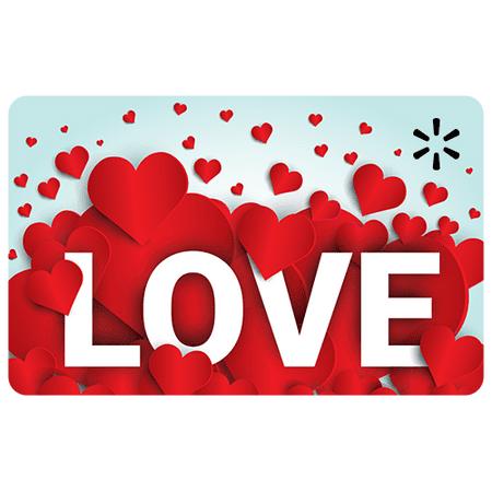 Vday Love Mountain Walmart eGift Card