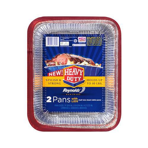 EZ FOIL/REYNOLDS 2PK 12x9-1/4 Roast Pan