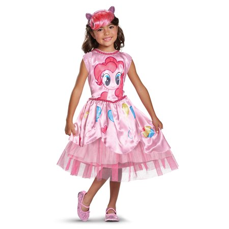 My Little Pony Movie Girls' Pinkie Pie Classic Costume - Pinkie Pie Equestria Girl Costume