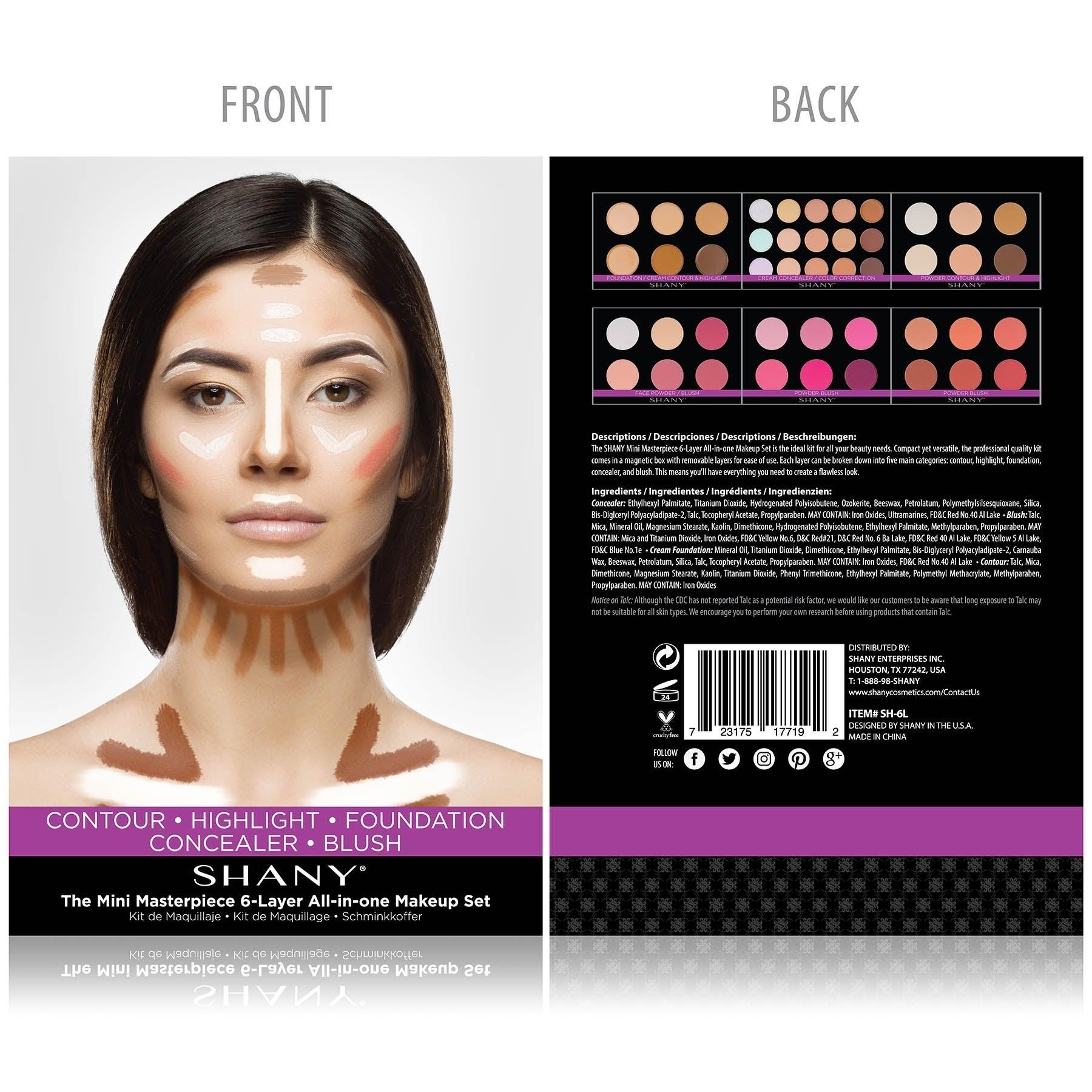 Shany Cosmetics Mini Masterpiece