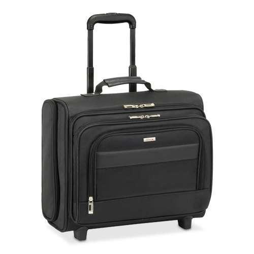 """Solo B64-4 Rolling Laptop Overnighter Case - Fits Notebook PCs up to 15.6"""""""