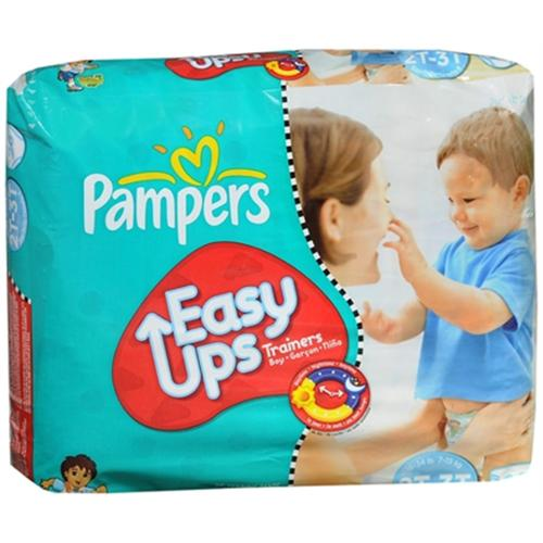 Pampers Easy Ups Training Pants Boys 26 Each [4 packs per case] (Pack of 4)