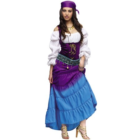 Gypsy Moon Adult Costume - Gypsy Costume Halloween