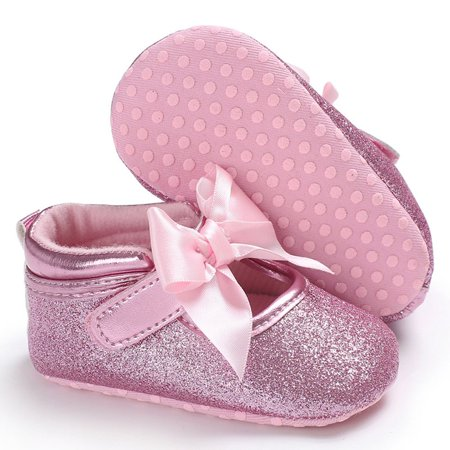 C431 Kids Princess Windy Butterfly Knot Soft-soled Walking Shoes Kids Shoes - image 3 of 8