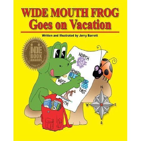 Wide Mouth Frog Goes On Vacation