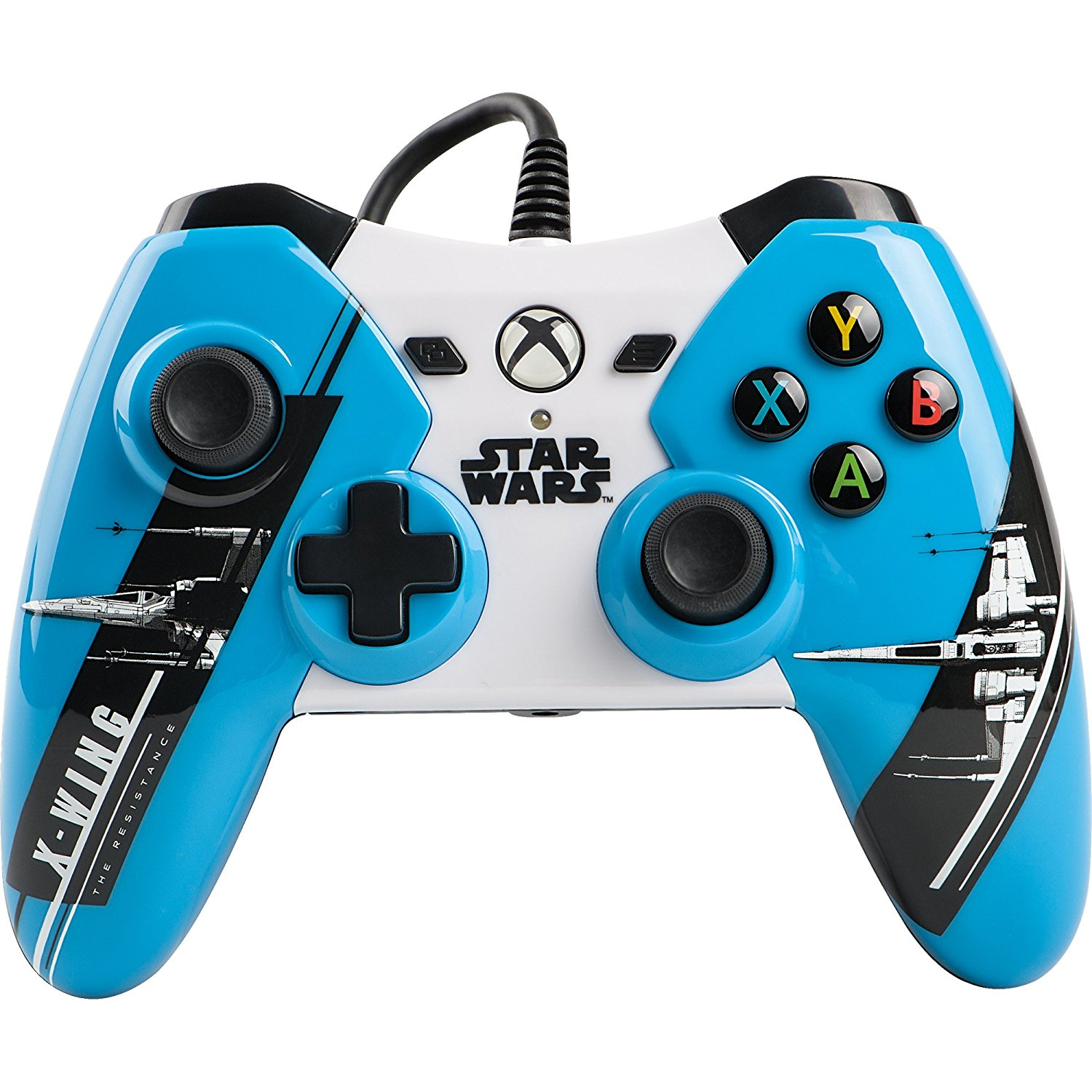POWER A Xbox One Wired Controller: Star Wars The Force Awakens -...