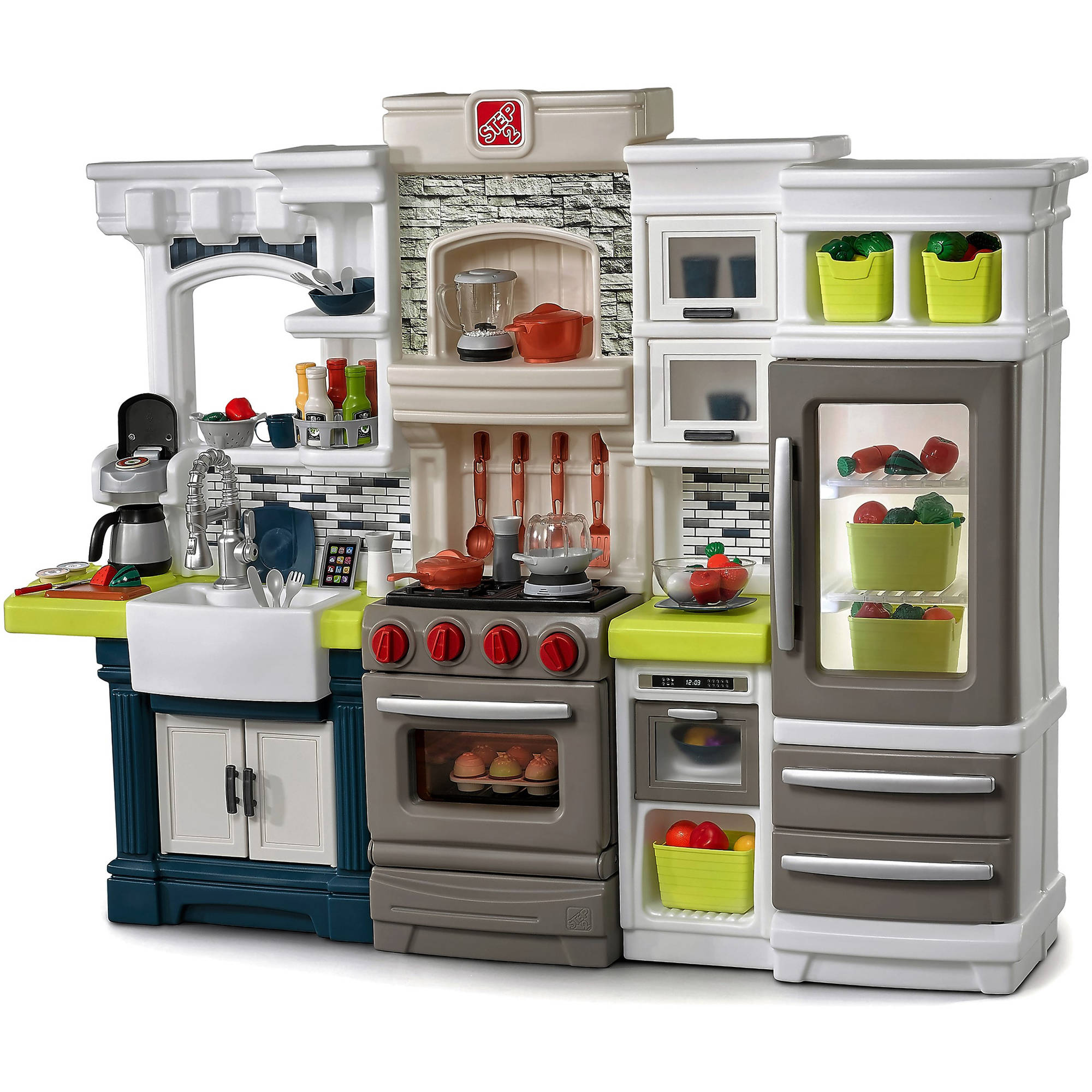 step2 elegant edge kitchen playset ebay