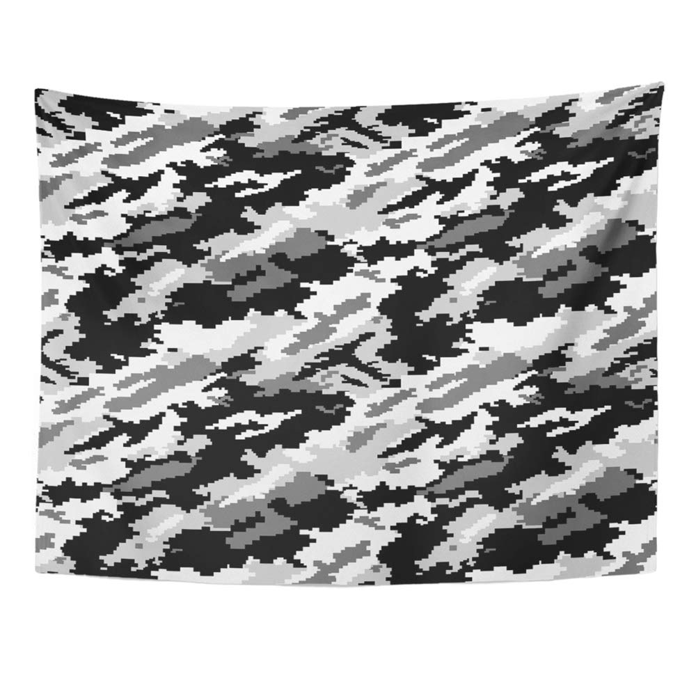 ZEALGNED Camo Second Urban Camouflage Black Wall Art ...