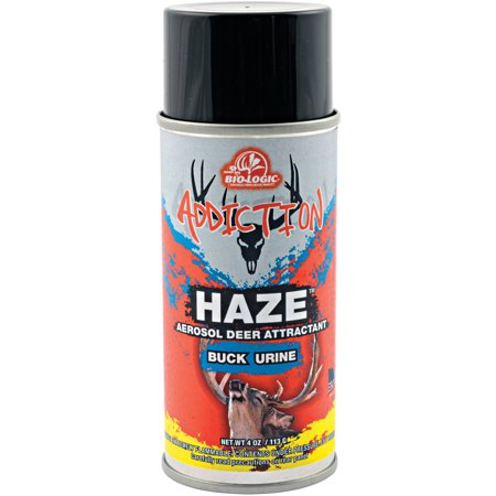 Mossy Oak Biologic Addiction Haze 4 Ounce Aerosol Dominant Buck Urine
