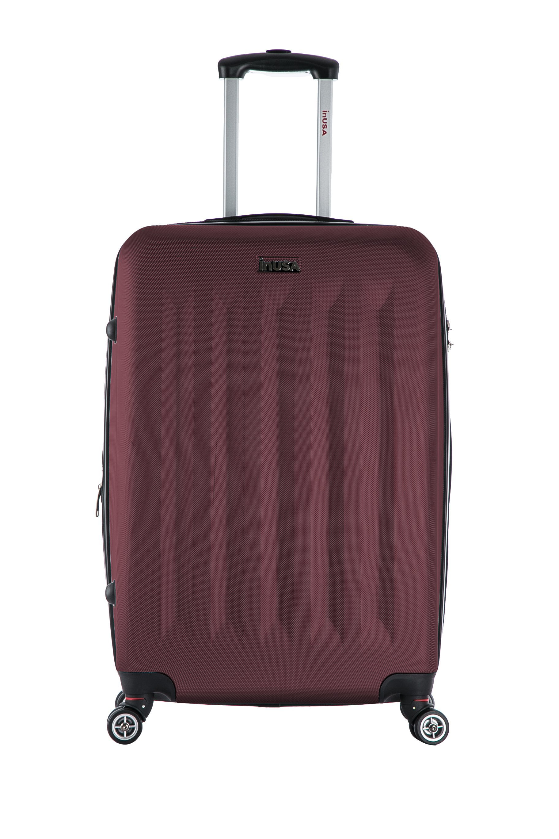 "InUSA Philadelphia 27"" Hardside Spinner Suitcase - Wine"