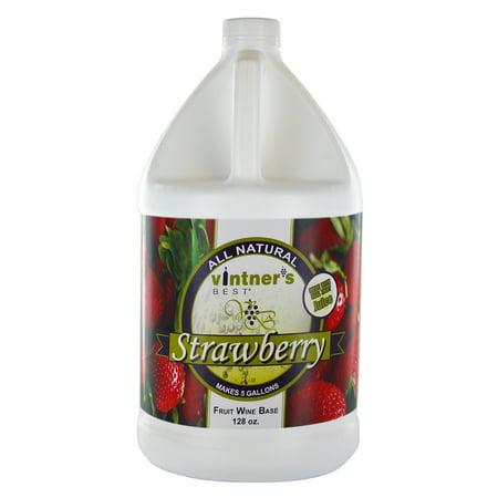 Vintners Best Fruit Wine Base-Strawberry (The Best Tasting Red Wine)