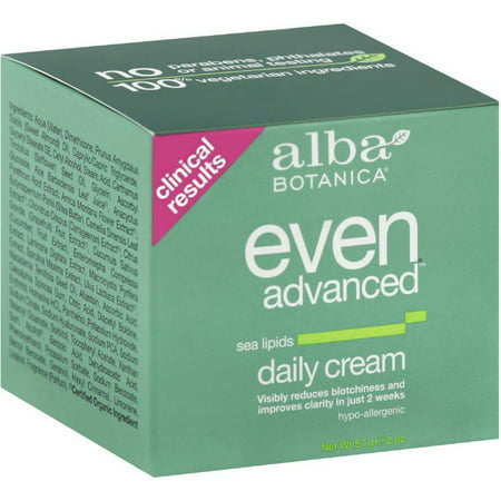- Alba Botanica Even Advanced Sea Lipids Daily Cream 2 oz (Pack of 2)