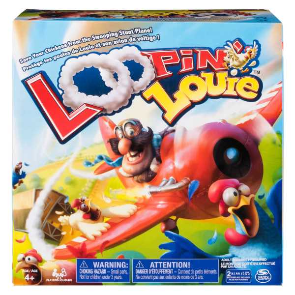 Loopin Louie Interactive Family Board Game for Kids Aged 4 and Up by Spin Master Ltd