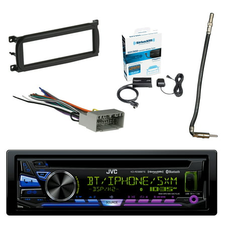 JVC 1-DIN Bluetooth CD/AM/FM Car Stereo with Sirius Radio ... on jvc wiring harness color coating, jvc steering wheel adapter, 7-way trailer wiring adapter, jvc kd r300 wiring harness, jvc kd r210 wiring-diagram, jvc kd s26 wiring harness, jvc headunit wiring-diagram, jvc wiring harness diagram,