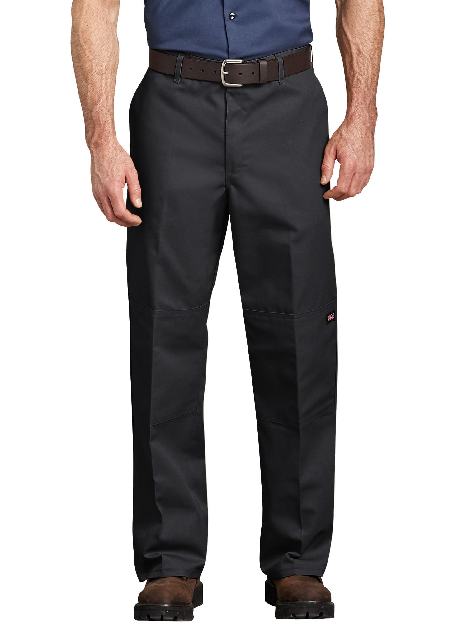 Men's Loose Fit Straight Leg Double-Knee Work Pants