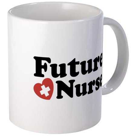 CafePress - Future Nurse Mug - Unique Coffee Mug, Coffee Cup CafePress - Nurse Coffee Mug
