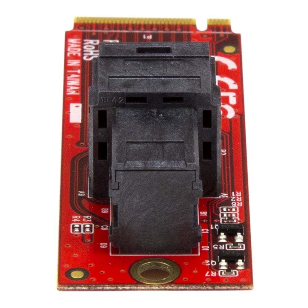 """U.2 (SFF-8643) to M.2 PCI Express 3.0 x4 Host Adapter Card for 2.5"""" U.2 NVMe SSD"""