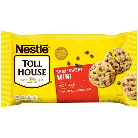 NESTLE TOLL HOUSE Semi-Sweet Chocolate Mini Morsels 20 oz. (Toll House Semi Sweet Chocolate Chips Ingredients)