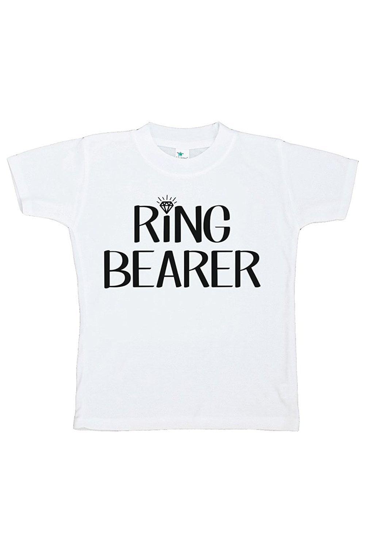 Custom Party Shop Toddler Boy's Ring Bearer Wedding T-shirt - 5