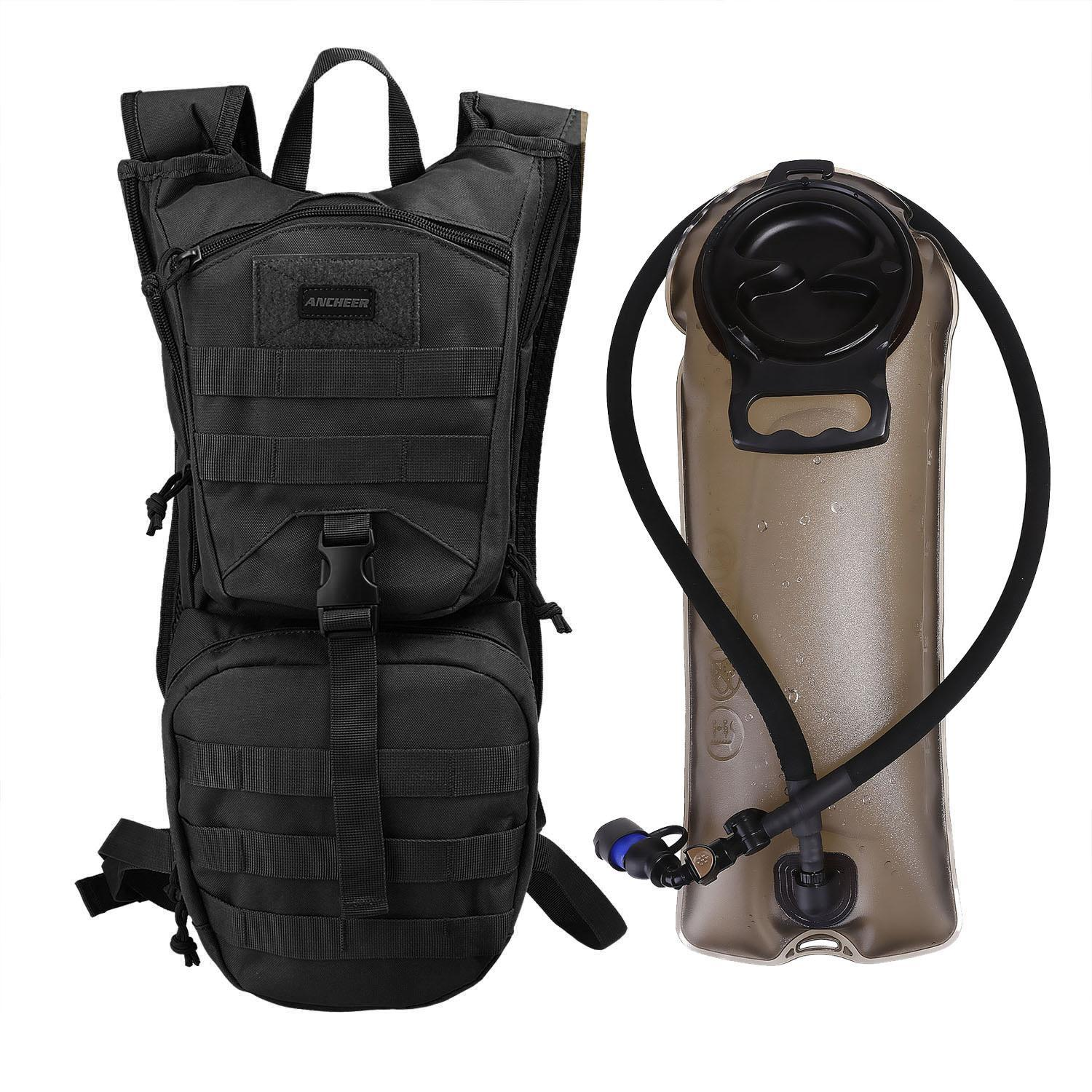 Oxford Tactical Hydration Backpack 2.5l Hydration System Climbing Survival Hiking Pouch Backpack Bladder Water Bag MAEHE by