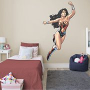 Fathead Wonder Woman: In Action - Life-Size Officially Licensed DC Removable Wall Decal