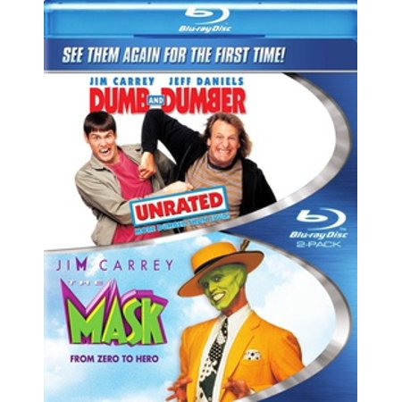 The Mask / Dumb & Dumber (Blu-ray) - Comedy Tragedy Masks