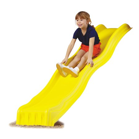 Panther Slide (Swing-N-Slide Yellow Cool Wave Slide Plastic Slide for 4 Foot Play Decks)