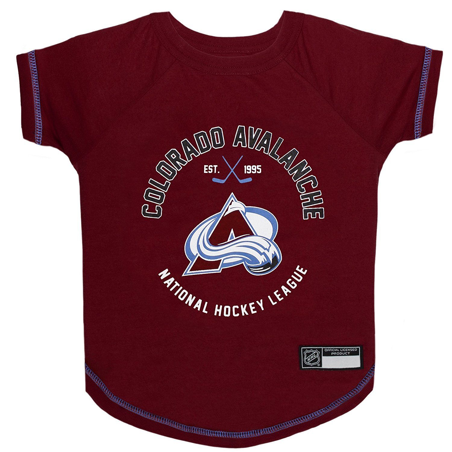 Colorado Avalanche Pet Dog Hockey Jersey Medium