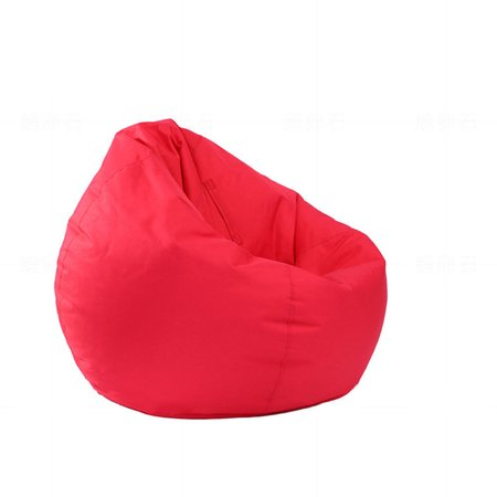 Teen Bean Bag Chair - Large Bean Bag Gamer Beanbag Adult Outdoor Gaming Garden Big Arm Chair Cover Seatr Durable Furniture Red