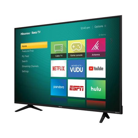 """Hisense 50"""" Class 4K Ultra HD (2160P) HDR Roku Smart LED TV (50R6E)"""