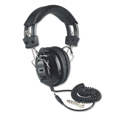 Amplivox Deluxe Stereo Headphones - AmpliVox Deluxe Stereo Headphones with Mono Volume Control