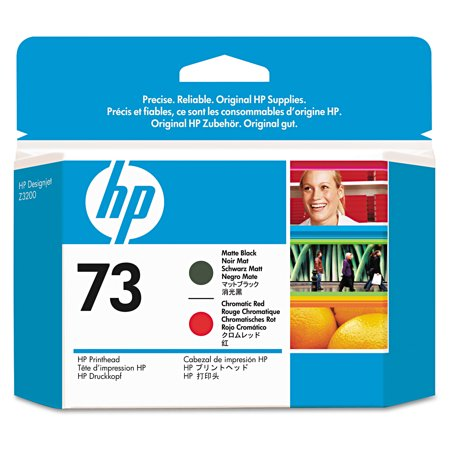 HP HP 73, (CD949A) Chromatic Red/Matte Black Printhead