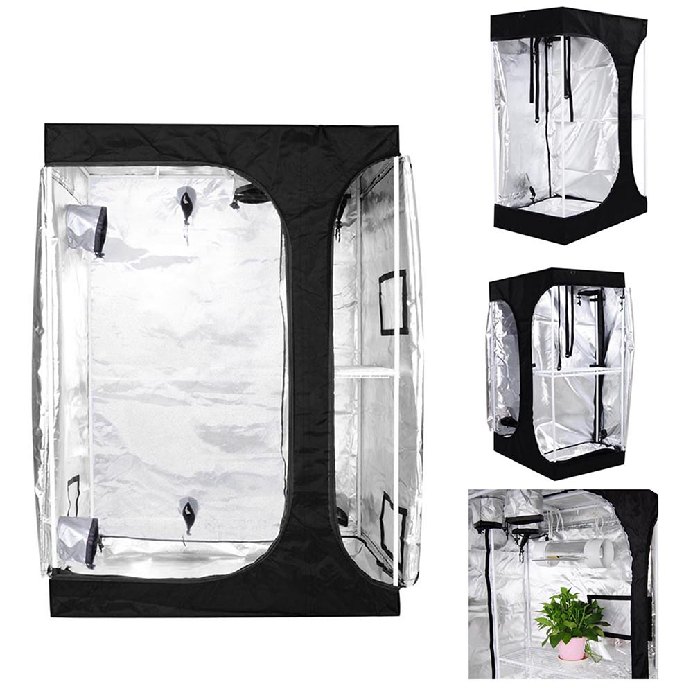 """LAGarden 2in1 Hydroponics Indoor Grow Tent Growing Planting Room Propagation and Flower Sections 48"""" x 36"""" x 70"""""""