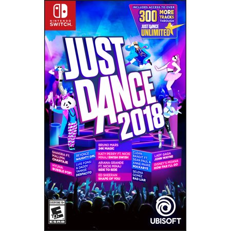 Just Dance 2018, Ubisoft, Nintendo Switch