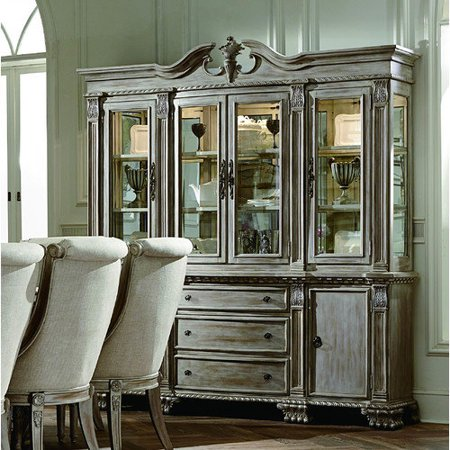 Buffet Hutch White Wash
