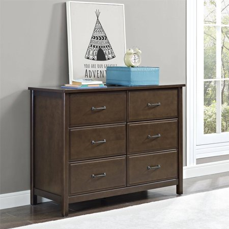 Better Homes And Gardens Ashcreek 6 Drawer Dresser Mocha