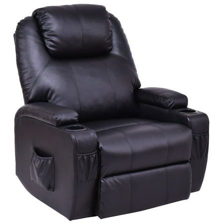 Costway Lift Chair Electric Power Recliner w/Remote and Cup Holder Living Room Furniture - Make Halloween Electric Chair