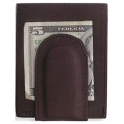 Brown Leather W/Credit Card Slots Front Pocket Wallet Designer Jewelry by Sweet Pea