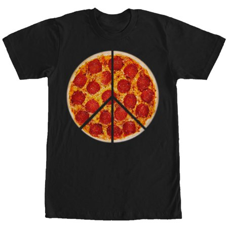 Men's Peace Pizza Pie T-Shirt
