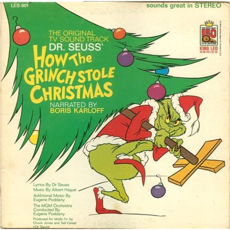 Grinch Stole Christmas Flannel - How The Grinch Stole Christmas / O.S.T. (Vinyl)