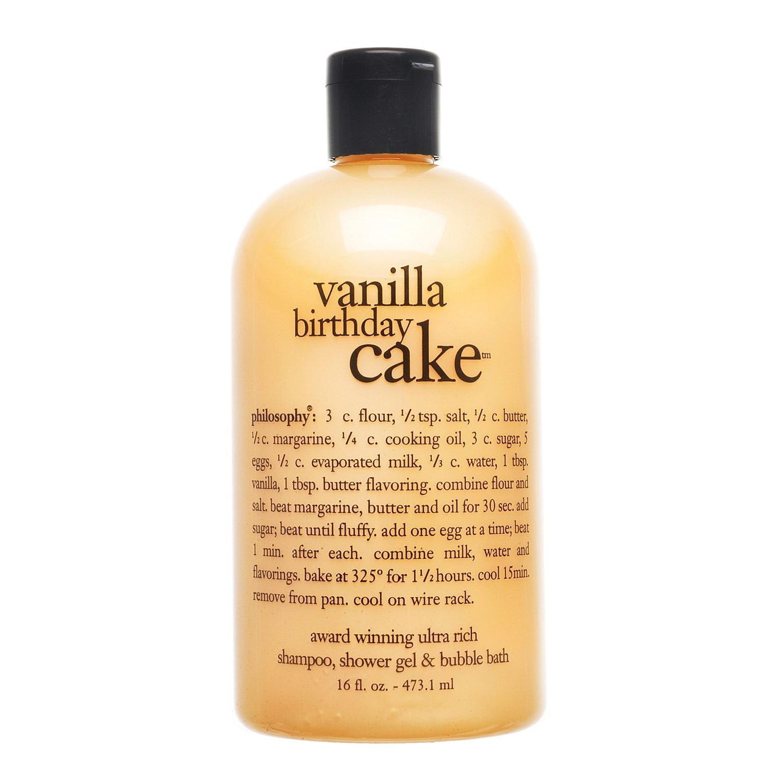 Philosophy Vanilla Birthday Cake Shampoo Shower Gel